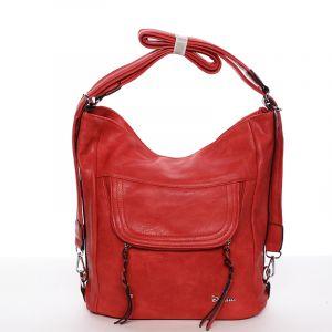 Dámská crossbody kabelka červená – Delami Laurene červená