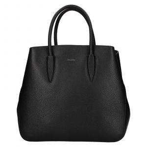 Dámská kožená kabelka Rovicky Veronika – černá
