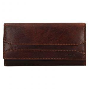 Dámská peněženka Lagen Marionna – hnědá