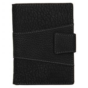 Pánská kožená peněženka Lagen Connor – černá