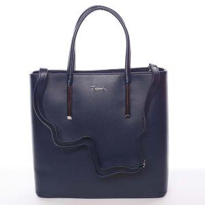 Dámská luxusní kabelka tmavě modrá – Delami Devin modrá