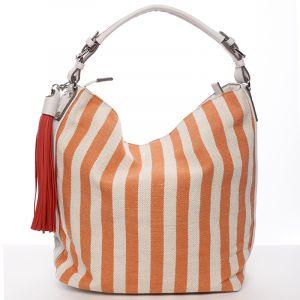 Oranžová kabelka přes rameno David Jones Adriane oranžová