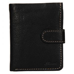 Pánská kožená peněženka Ashwood Harry – černá