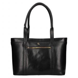 Dámská kožená kabelka Ashwood Amelia – černá