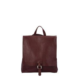Dámský kožený batůžek kabelka vínový – ItalY Francesco vínová
