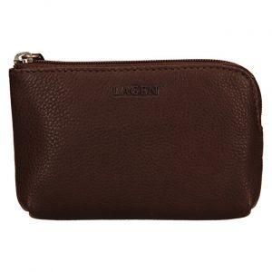 Lagen Dámská kožená mini peněženka-klíčenka BLC/4742 Brown