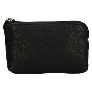 Lagen Dámská kožená mini peněženka-klíčenka BLC/4742 Black