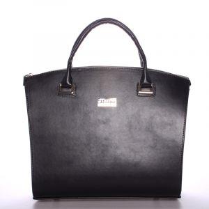 Dámská luxusní kabelka matná černá – Maggio Florida černá