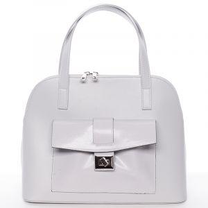 Módní dámská kabelka do společnosti šedá – Delami Victorine šedá