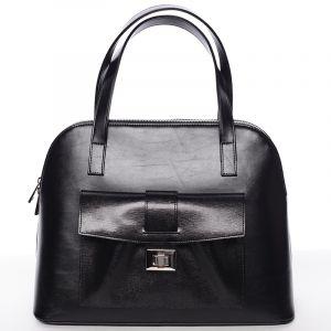 Módní dámská kabelka do společnosti černá – Delami Victorine černá