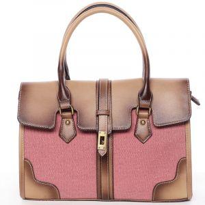 Trendy dámská kabelka do ruky červená – MARIA C Delmare červená