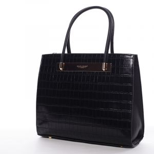 Trendy dámská kabelka do ruky černá – David Jones Chantelle černá