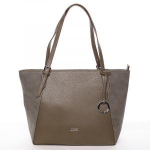 Moderní dámská kabelka přes rameno khaki – David Jones Strap Khaki