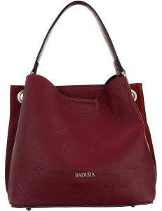 Badura vínová elegantní kabelka vel. ONE SIZE 137765-550181
