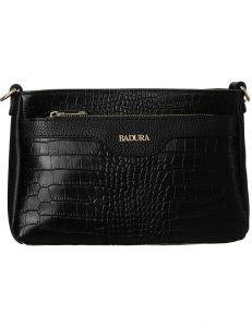 Badura černá kabelka s motivem krokodýlí kůže vel. ONE SIZE 137960-550182