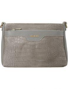 Badura béžová kabelka s motivem krokodýlí kůže vel. ONE SIZE 137961-550183