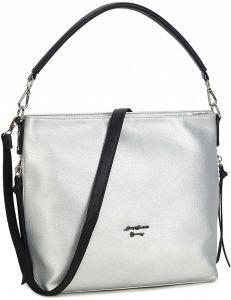 Stříbrná dámská shopper kabelka vel. ONE SIZE 139885-550188