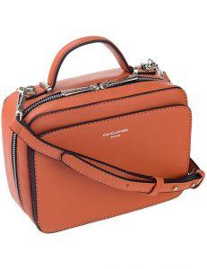 David jones oranžová crossbody kabelka vel. ONE SIZE 148740-551693