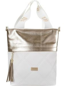 Badura zlato-bílá shopper kabelka vel. ONE SIZE 148744-551705