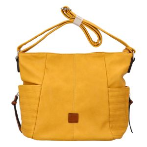 Dámská kabelka přes rameno žlutá – Paolo Bags SaMi žlutá