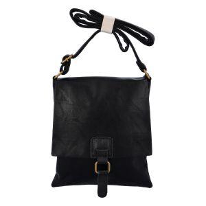 Dámská crossbody kabelka černá – Paolo Bags Finiona černá