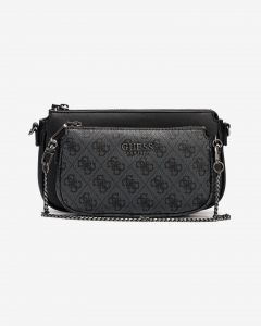 Mika Double Pouch Cross body bag Guess