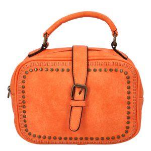 Dámská originální kabelka oranžová – Paolo Bags Sami oranžová
