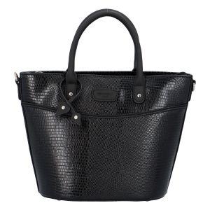 Malá dámská kabelka do ruky černá – Hexagona SanDeep černá