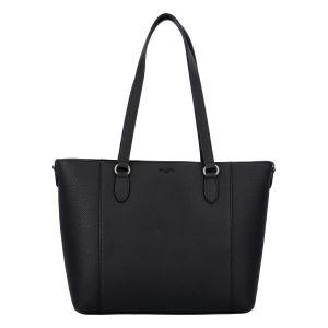 Velká dámská kabelka přes rameno černá – Hexagona Largetha černá
