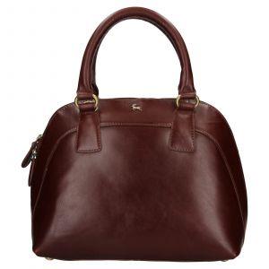 Dámská kožená kabelka Ashwood Miriame – hnědá
