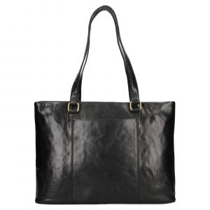 Dámská kožená kabelka Ashwood Lolita – černá