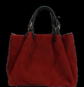 Tmavě červená kabelka Belloza Rossa Nera