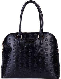 černá vzorovaná shopper kabelka monnari vel. ONE SIZE 149623-555757