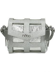 Stříbrná crossbody kabelka nobo vel. ONE SIZE 149639-555773