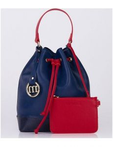 Modro-červená originální kabelka monnari vel. ONE SIZE 149673-555816