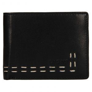 Pánská kožená peněženka Lagen Bassa – černá
