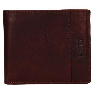 Pánská kožená peněženka Lagen Denton – koňak