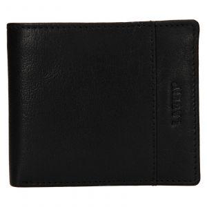 Pánská kožená peněženka Lagen Denton – černá