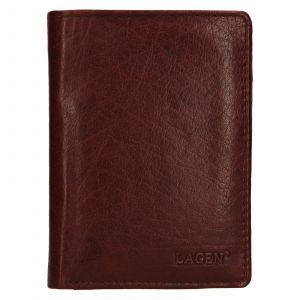 Pánská kožená peněženka Lagen Josef – hnědá