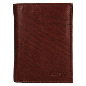 Pánská kožená peněženka Lagen Dion – koňak