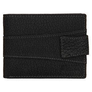 Pánská kožená peněženka Lagen Kevon – černá