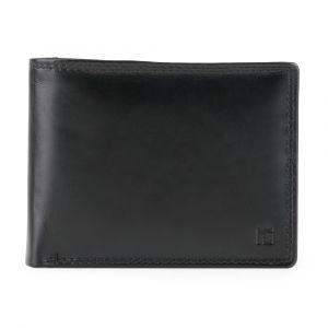 Marina Galanti Pánská kožená peněženka 87-001-2BL – černá