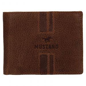 Pánská kožená peněženka Mustang Loyd – koňak