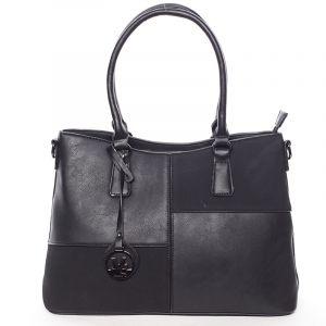 Kvalitní dámská kabelka přes rameno černá – MARIA C Evangelina černá