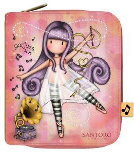 Santoro lososová peněženka Gorjuss Little Dancer