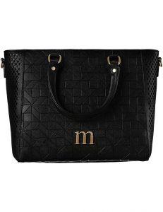 černá dámská shopper kabelka monnari vel. ONE SIZE 150513-560247