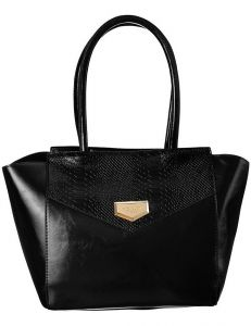 černá shopper kabelka monnari vel. ONE SIZE 150518-560252