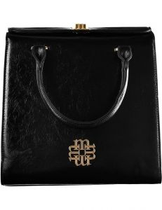 černá elegantní kabelka monnari vel. ONE SIZE 150521-560255