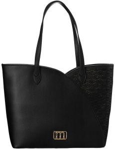 černá shopper kabelka monnari vel. ONE SIZE 150525-560259