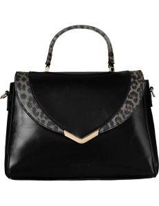 černá dámská hladká kabelka monnari vel. ONE SIZE 150822-561175